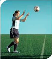 esercizi calcio 11+ 10 equilibrio su una gamba sola 2