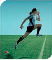 esercizi calcio 11+ 14 corsa con balzi