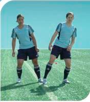 esercizi calcio 11+ 4 corsa intorno al compagno