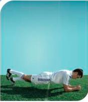 esercizi calcio 11+ 7 plank 2