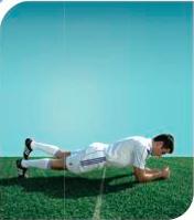 esercizi calcio 11+ 7 plank 3