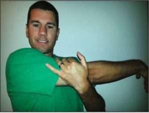 riabilitazione della spalla stretching