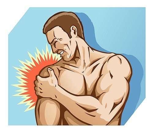 CUFFIA DEI ROTATORI  trattamento per curare il mal di spalla. 7e10b774adad